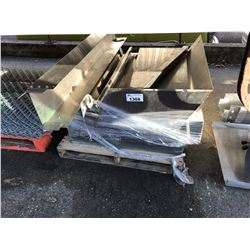 PALLET OF ASSORTED STAINLESS STEEL PARTS