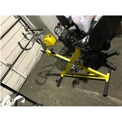 TECH PRO YELLOW EXERCISE BIKE