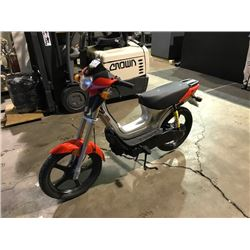 DERBI VARIANT REVOLUTION GAS SCOOTER 234KMS, *NO REGISTRATION*