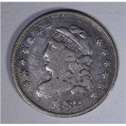 1832 BUST DIME VF