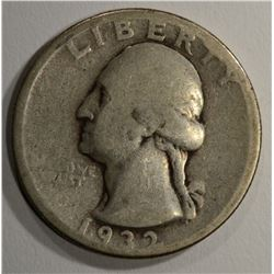 1932-D WASHINGTON QTR GOOD