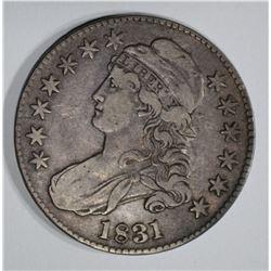 1831 BUST HALF VF/XF