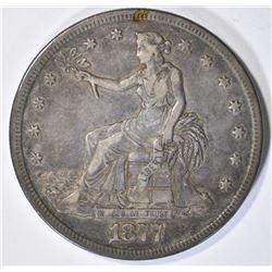 1877-S TRADE DOLLAR XF+ 100% ORIGINAL