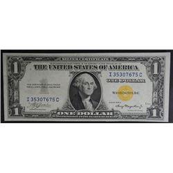1935 A $1 SILVER CERTIFICATE NORTH AFRICA
