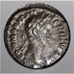 177-192 AD SILVER DENARIUS EMPEROR COMMODUS