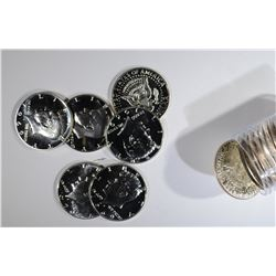 MIXED DATE ROLL OF PROOF 40% SILVER HALVES