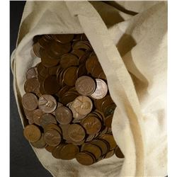 2500 MIXED DATE CIRC LINCOLN WHEAT CENTS