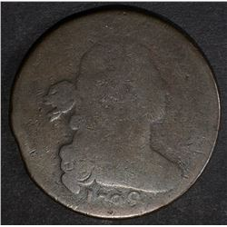 1798 DRAPED BUST LARGE CENT G/AG