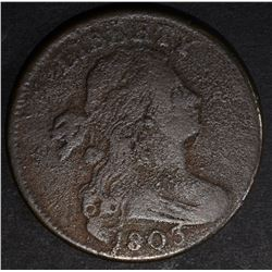 1803 DRAPED BUST LARGE CENT VG