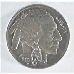 1921-S BUFFALO NICKEL  CH BU  NICE STRIKE
