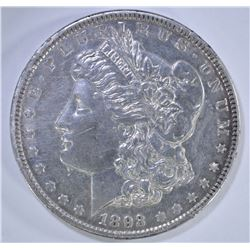 1893 MORGAN DOLLAR  AU