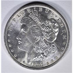 1891 MORGAN DOLLAR  CH BU+