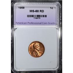 1958 LINCOLN CENT APCG SUPERB