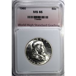 1960 FRANKLIN HALF DOLLAR WHSG