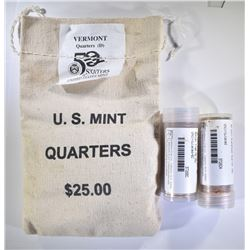 "MINT BAG LOT: VERMONT ""D"","