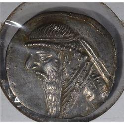 GREEK PARTHIA SILVER DRACHM 123-88 BC HIGHER END!