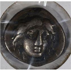 GREEK RHODES SILVER COIN 387-304 BC