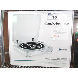 AUDIO TECHNICA BLUETOOTH WIRELESS BELT-DRIVE STEREO TURNTABLE