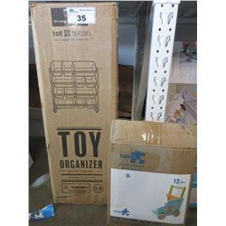TOY ORGANIZER & TOY BOX