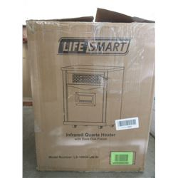 LIFE SMART INFRARED QUARTZ HEATER MODEL LS-1000X-6W-IN