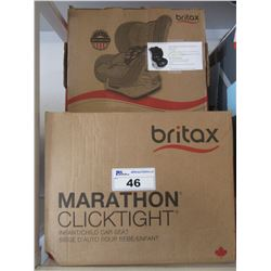 BRITAX MARATHON CLICKTIGHT INFANT CHILD CAR SEAT