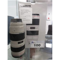 CANON EF 70-200MM F/2.8L IS III USM LENS FOR CANON DIGITAL SLR CAMERAS (ITEM IS USED)