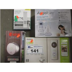 LOT OF ASSORTED SMART HOME EQUIPMENT & MISC