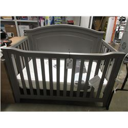 BABY CRIB (SOME COSMETIC DAMAGE) & NEW CLASSIC 150 NATUREPEDIC MATTRESS