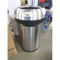 SIMPLEHUMAN BULLET OPEN 115L TRASH CAN