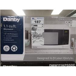DANBY 1.1 CU FT 1000W MICROWAVE (DMW1110WDB)