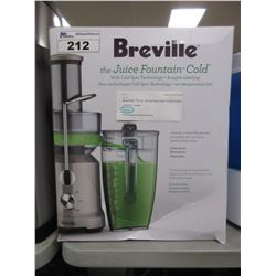 BREVILLE 70 OZ JUICE FOUNTAIN COLD JUICER