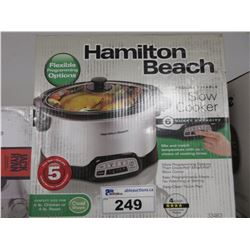 HAMILTON BEACH PROGRAMMABLE SLOW COOKER MODEL 33463