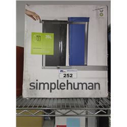 SIMPLEHUMAN SLIDEOUT CAN & LAMP SHADES