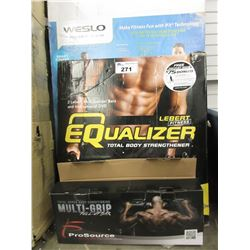 LEBERT FITNESS EQUALIZER & MULTI-GRIP BAR
