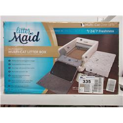 LITTERMAID AUTOMATIC MULTI-CAT LITTER BOX