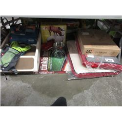 LARGE LOT OF ASSORTED PET SUPPLY