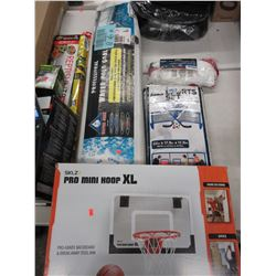 LOT OF ASSORTED KIDS SPORTS EQUIPMENT
