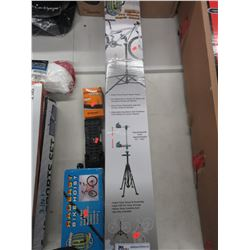 PRO BICYCLE REPAIR STAND, BIKE HOIST & MISC