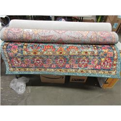 APPROX 5X8' MULTI-COLOURED AREA RUG