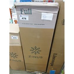 "ZINUS 12"" FULL GEL FOAM GREEN TEA MATTRESS"