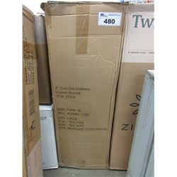 "8"" COOL GEL TWIN XL MATTRESS"