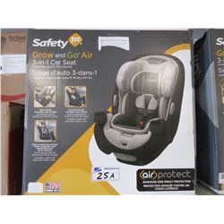 SAFETY GROW AND GO AIR 3-IN-1 CAR SEAT