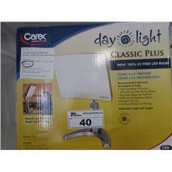 CAREX DAY LIGHT CLASSIC PLUS 10,000 LUX SUN LAMP
