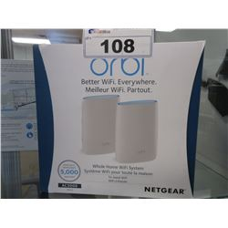 NETGEAR ORBI AC3000 HOME WIFI SYSTEM