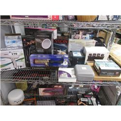 SHELF OF HOUSEHOLD & BEAUTY SUPPLY