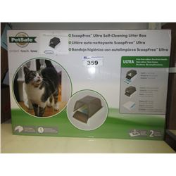 PETSAFE SCOOP FREE ULTRA SELF CLEANING LITTER BOX