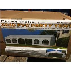 20' X 40' PVC PARTY TENT