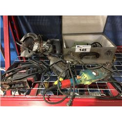 GROUP OF 5 ASSORTED POWER TOOLS