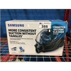 SAMSUNG CYCLONE FORCE CANISTER VACUUM