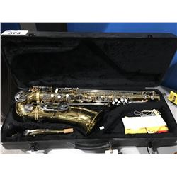 SCHILL BY GERMAN ENGINEERING TENOR SAXOPHONE WITH CASE